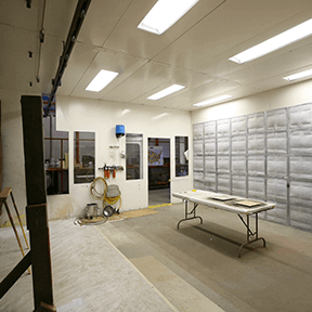 Painter Training Facility - Spray Booth