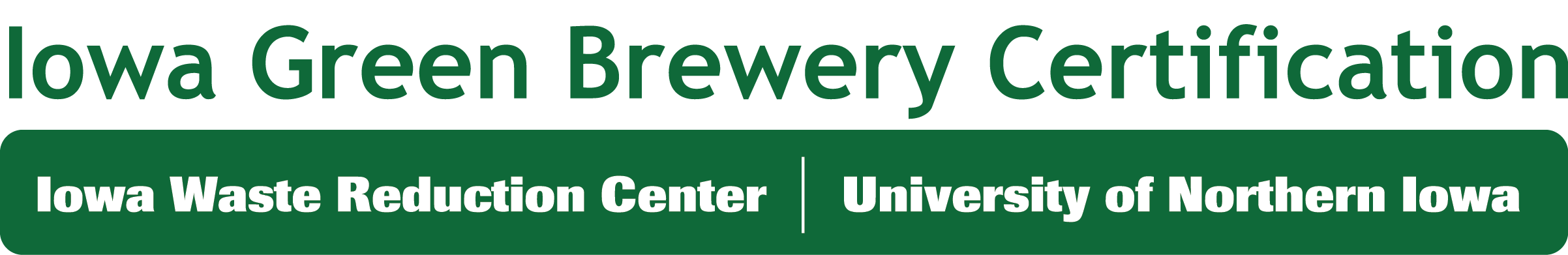 Iowa Green Brewery Certification Iowa Waste Reduction Center