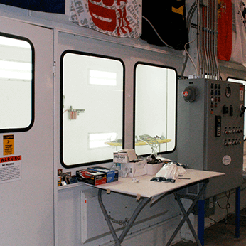 Painter Training Facility - Outside Booth