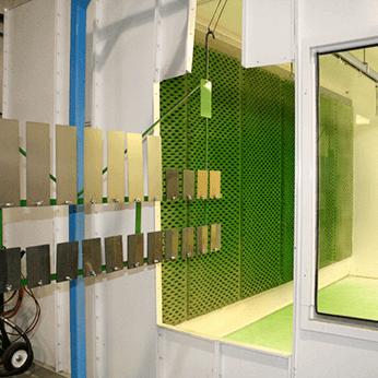 Painter Training Facility - Conveyor/Booth