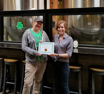 7 Hills Brewing Company receives certification