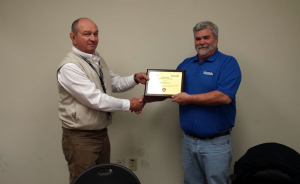 Alleman receives 2014 STAR4D Instructor of the Year award
