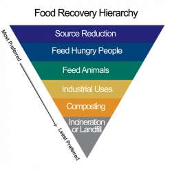 U.S. EPA Food Recovery Hierarchy