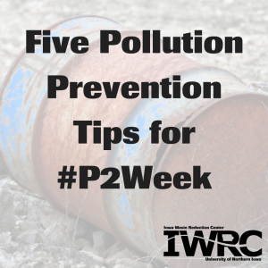 Five Pollution Prevention Tips for P2 Week