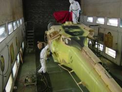 Aerospace painting