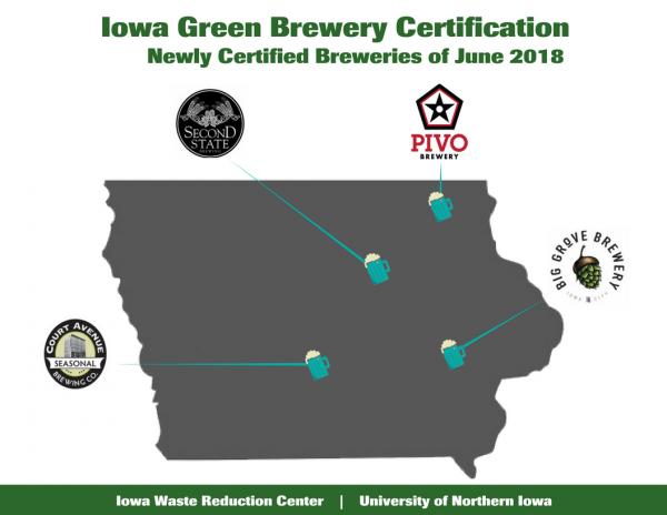 June 2018 Certified Breweries