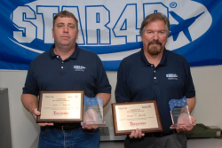 Brennan and Jurosky, 2011 STAR4D Instructors of the Year