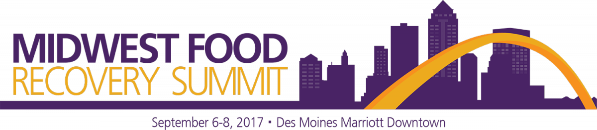 image of Des Moines skyline and Summit word brand logo