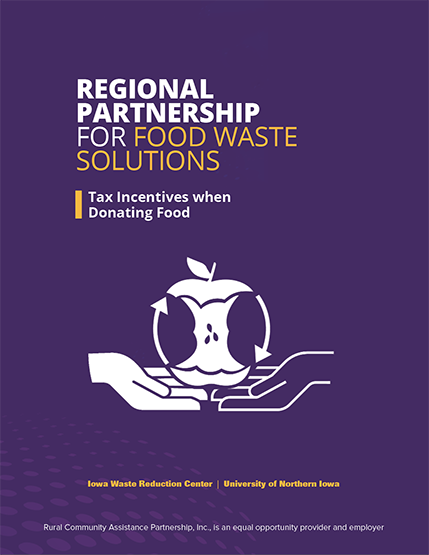 Regional Partnership for Food Waste Solutions Tax Incentives